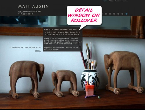 Matt Austin&#039;s website