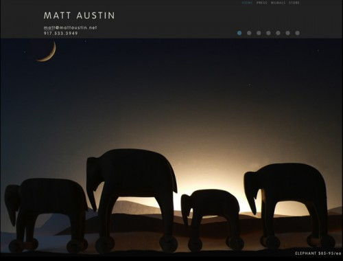 Matt Austin website